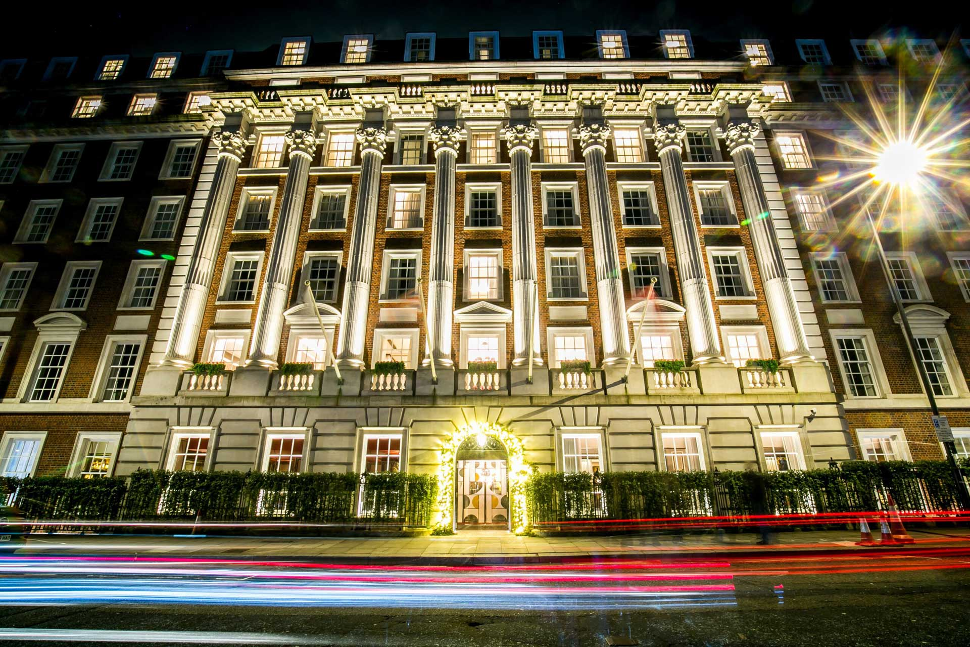 Mayfair corporate christmas party